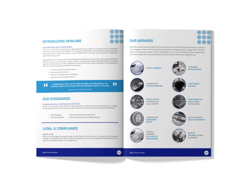 Company Profile design East London